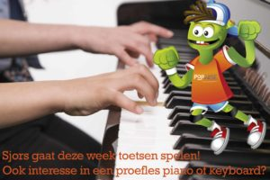 Pianospelen popwise Sjorscreatief